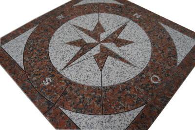 Graniet natuursteen vloertegels