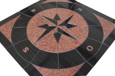 Mozaiek tegels van graniet van keuken en vloer