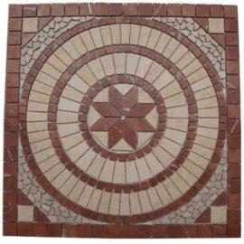 Mozaiek tegels badkemer keuken en hal