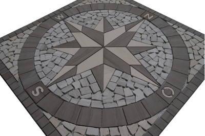 Vloertegels en wandtegels van mozaiek