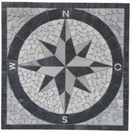 Mozaiek tegels Bianco Carrara Marmer