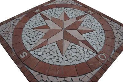 Natuursteentegels van marmer voor vloer en wand