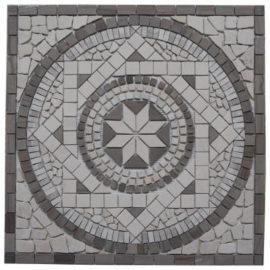 Marmer tegels in grijs tinten