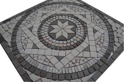 Mozaiek tegels van marmer mozaiek