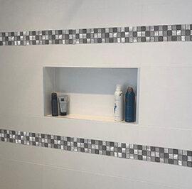 M800 strip badkamer