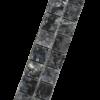 Tegelstrip Blue Pearl 2,3 strip diagonaal