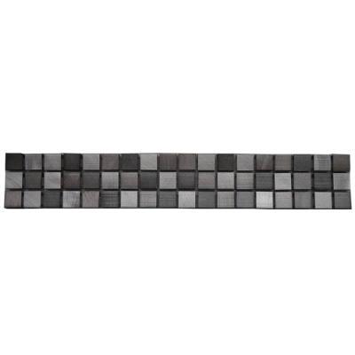 Mozaiek tegelstrip van aluminium voor keuken en badkamer