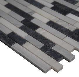 Bianco Carrara mozaiek tegels voor vloer en wand