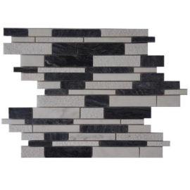 Mozaiek tegels zwart en antraciet voor keuken en badkamer