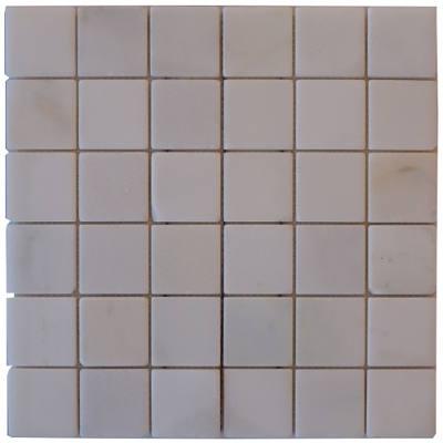 Mozaiek tegels wit voor keuken en badkamer