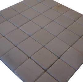 Witte mozaiek tegels voor vloer en wand