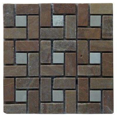 Mozaiek tegels van Palace Onyx marmer
