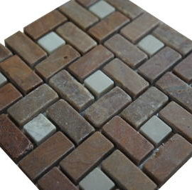 Vloertegels badkamer en keuken mozaiek