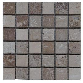 Travertin natuursteen mozaiektegels