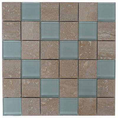 Glasmozaiek tegels voor badkamer en keuken