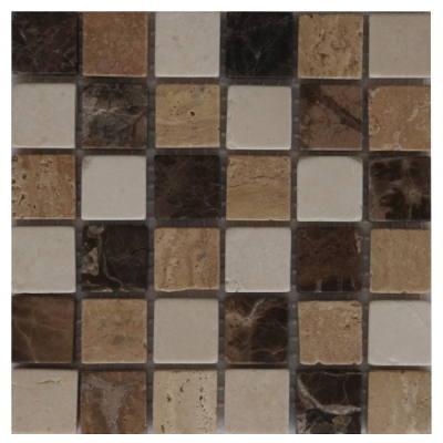 Mozaiek tegels van Travertin Marmer natuursteen