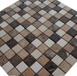 Travertin natuursteen mozaiek tegels