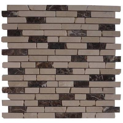 Marmer natuursteen mozaiektegels voor wand en vloer