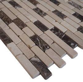 Mozaiek wandtegels en vloertegels