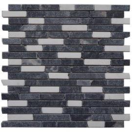 Zwart en wit tegels natuursteen