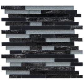 Glasmozaiek tegels met glitters voor wand