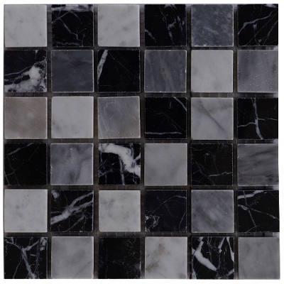 Bianco Carrara wandtegels van mozaiek