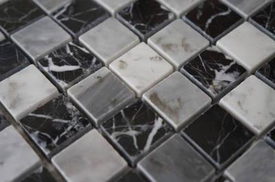 Bianco Carrara natuursteen mozaiek tegels
