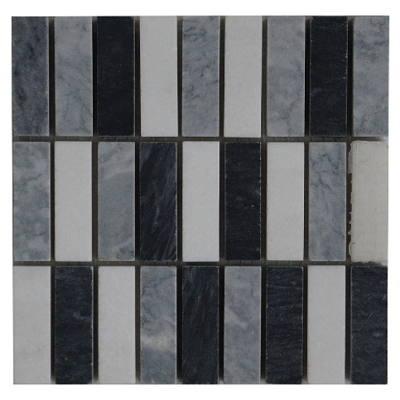 Bianco Carrara mozaiek tegels voor binnen