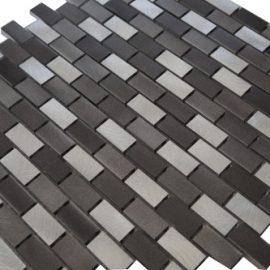 Mozaiek tegels aluminium 30x30cm M801 Topmozaiek24