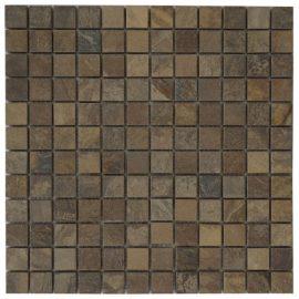 Mozaiek tegels leisteen 30x30cm M499 Topmozaiek24