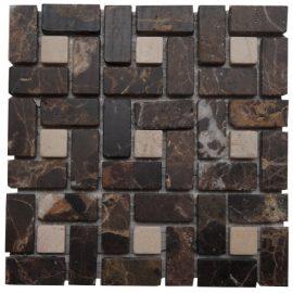 Mozaiek tegels marmer 15x15cm M518-15 Topmozaiek24