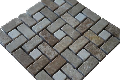Mozaiek tegels marmer 15x15cm M519-15 Topmozaiek24