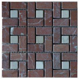 Mozaiek tegels marmer 15x15cm M524-15 Topmozaiek24