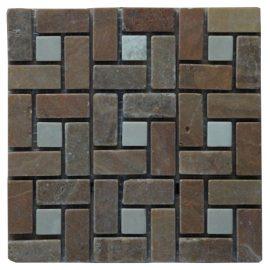 Mozaiek tegels marmer 15x15cm M525-15 Topmozaiek24