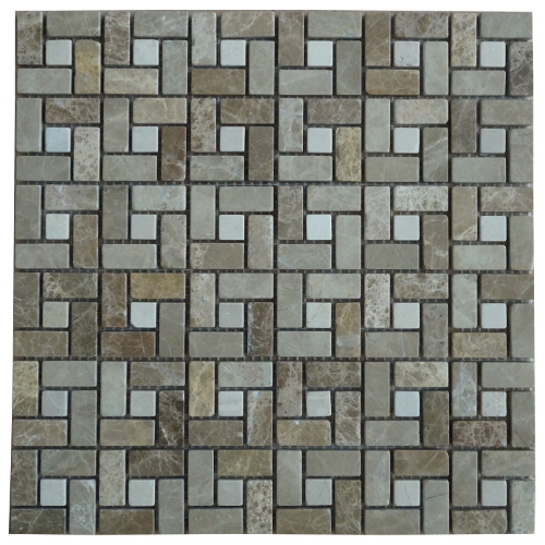Mozaiek tegels marmer 30x30cm M519-30 Topmozaiek24