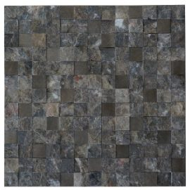 Mozaiek tegels marmer aluminium 30x30cm M753(1) Topmozaiek24