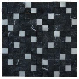 Mozaiek tegels marmer aluminium M754 Topmozaiek24