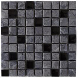 Mozaiek tegel marmer glas 15x15cm M670 Topmozaiek24
