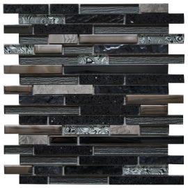 Mozaiek tegel marmer glas 30x30cm M447 Topmozaiek24