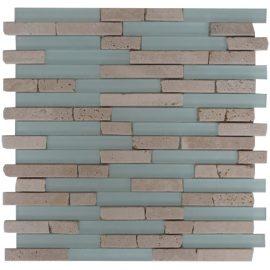 Mozaiek tegel marmer glas 30x30cm M556 Topmozaiek24