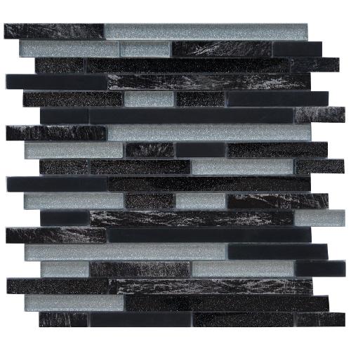 Tegelstrips Badkamer: Mozaiek Tegels Met Glittereffecten: Natuurlijk Bij