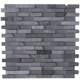 Mozaiek tegel marmer glas 30x30cm M671 Topmozaiek24