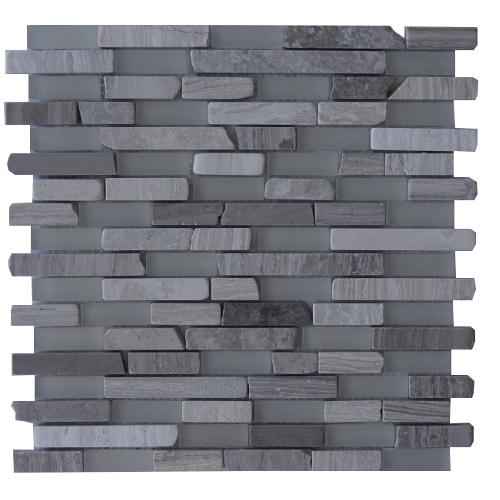 Tegelstrips Badkamer: Mozaiek Tegels Van Marmer En Gesatineerd Glas: Topmozaiek24