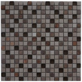 Mozaiek tegel marmer glas 30x30cm M673 Topmozaiek24