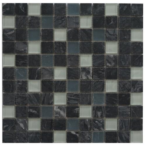 Tegelstrips Badkamer: Mozaiek Tegels Mix Van Marmer En Glas: Laagste Prijs