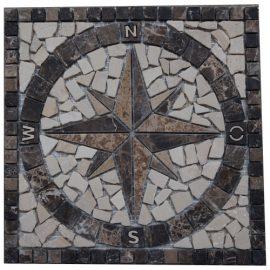 Mozaiek tegels medallion 30x30cm 027 Topmozaiek24