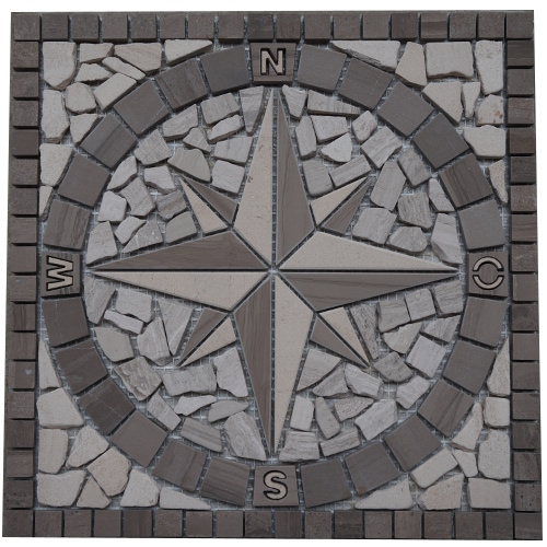 Mozaiek tegels medallion 30x30cm 032 Topmozaiek24
