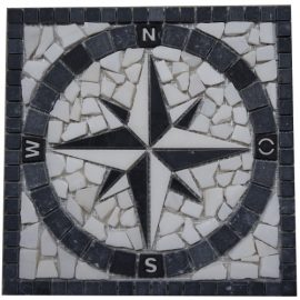 Mozaiek tegels medallion 30x30cm 039 Topmozaiek24
