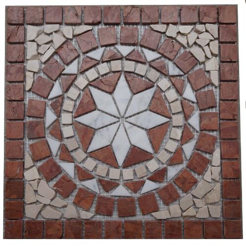 Mozaiek tegels medallion 33x33cm 021 Topmozaiek24