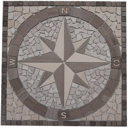 Mozaiek tegels medallion 60x60cm 031 Topmozaiek24